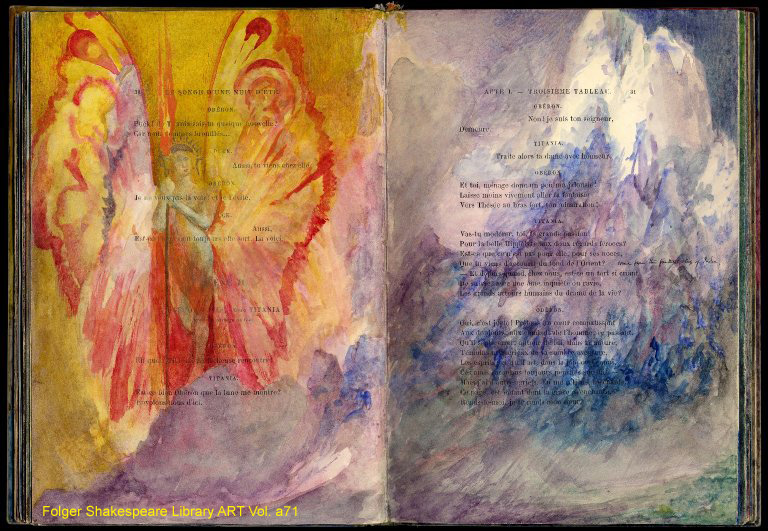 Painted pages by Pinkney Marcius-Simons