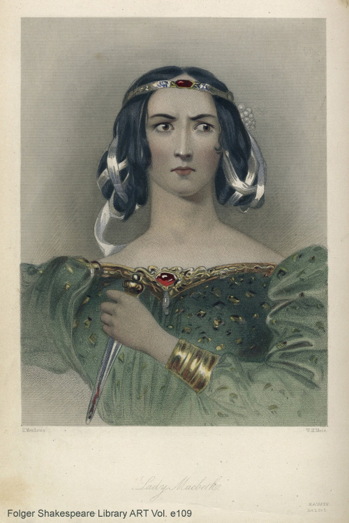 Lady Macbeth from Folger ART Vol. e109