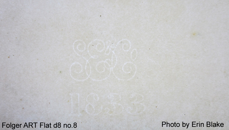 whatman paper watermark Heavy french laid paper and light french laid paper (for shilling prints)  of laid  papers wove paper with whatman watermark wove paper without watermark.