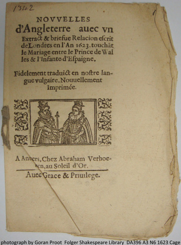 The intended couple (fol. A1r)