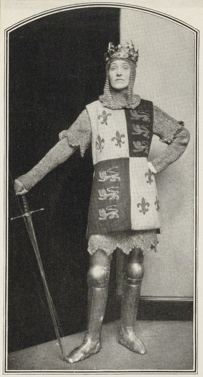 Gwen Lally as Henry V