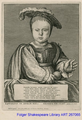 Monochrome image of a baby in rich clothes