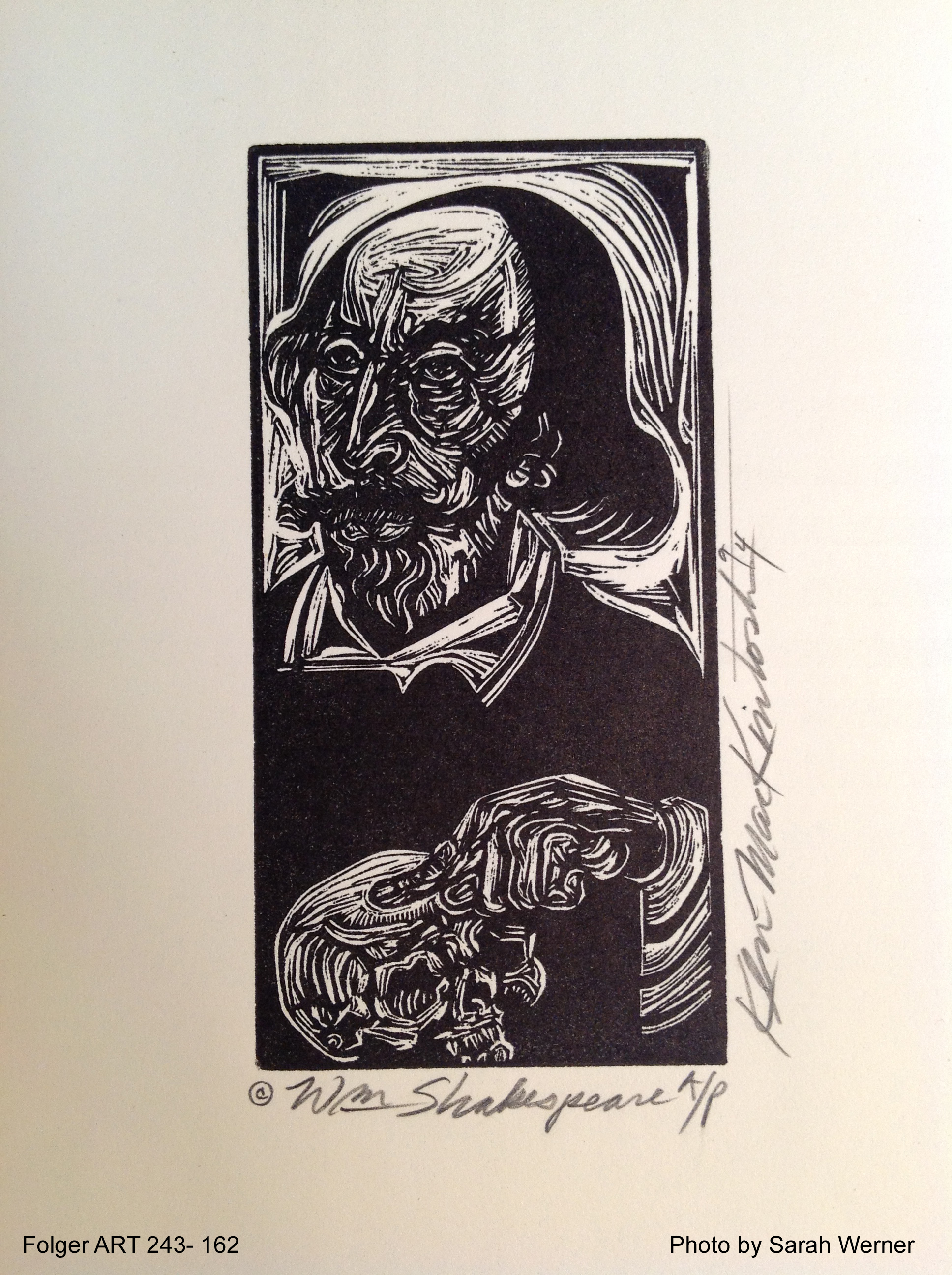 """Wm. Shakespeare"" by Ken MacKintosh, 1994"