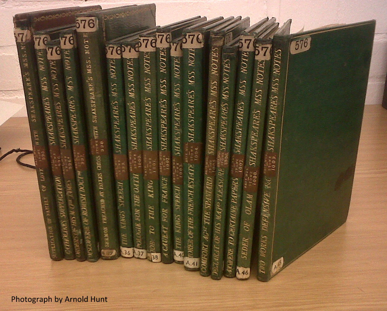 Ireland-Shakespeare books at the BL
