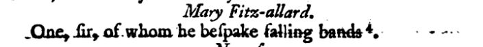 same passage showing footnote 4 in Old Plays