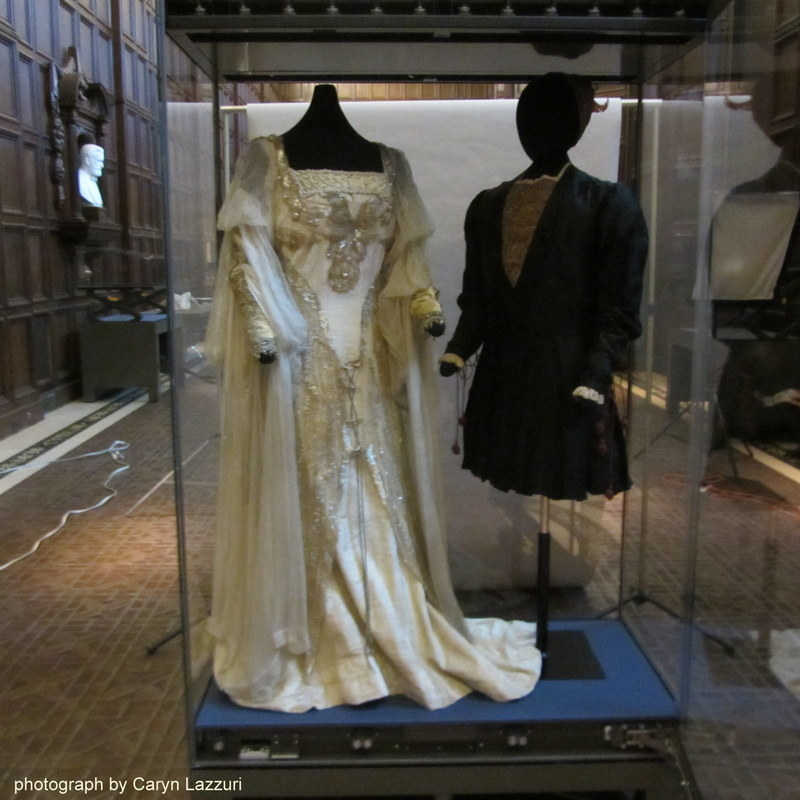 Romeo and Juliet costumes worn by Julia Marlowe and E.H. Sothern.