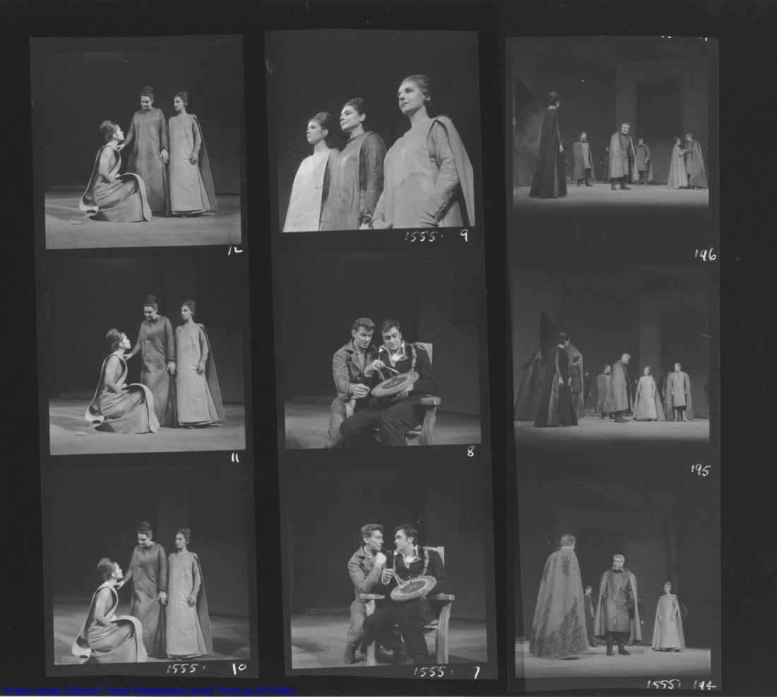 Contact sheet of 9 negatives