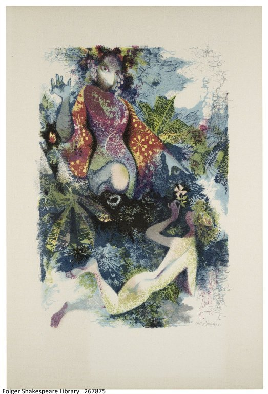 Jiří Trnka, 1912–1969. A midsummer night's dream. Prague: Artia, 1961.