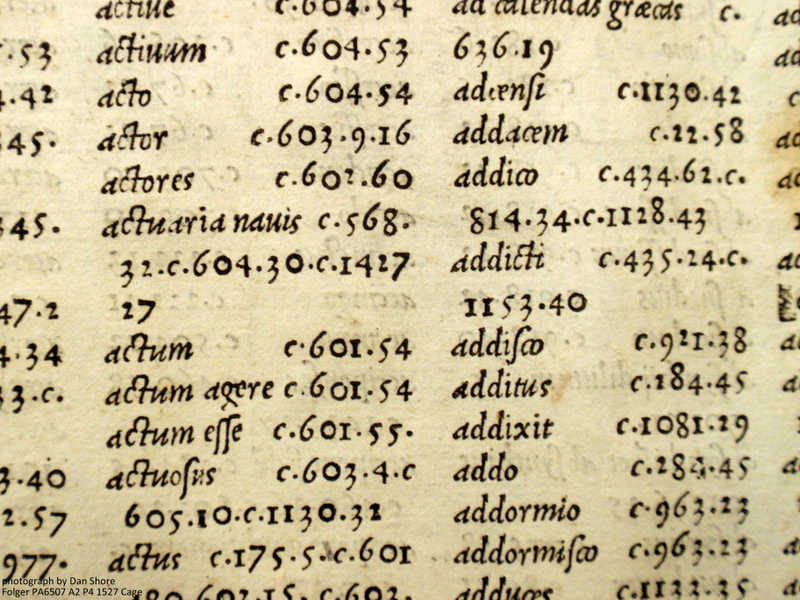 Index with Arabic numerals and multiple references.