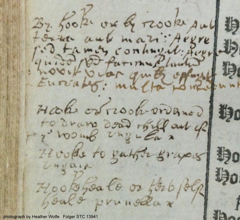 "Added entry for ""By hooke or by crooke."""