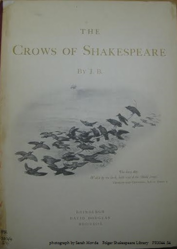 The Crows of Shakespeare
