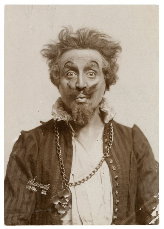 E.H. Sothern as Malvolio (1905)