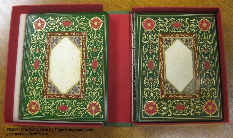 St. Dunstan Sonnets (front covers; part I on left)