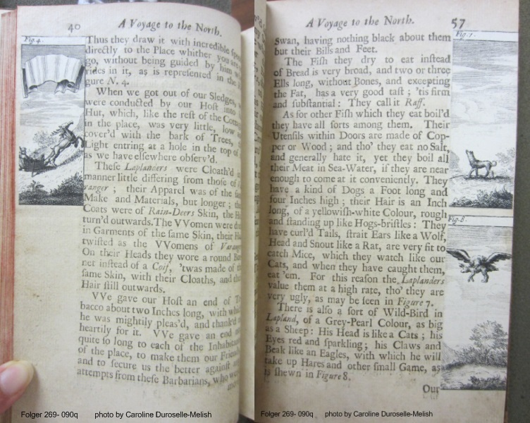 Pages 40 and 57 of the English edition with images pasted in