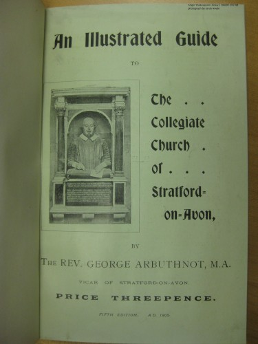 By 1905, Arbuthnot's guide was on its fifth edition.