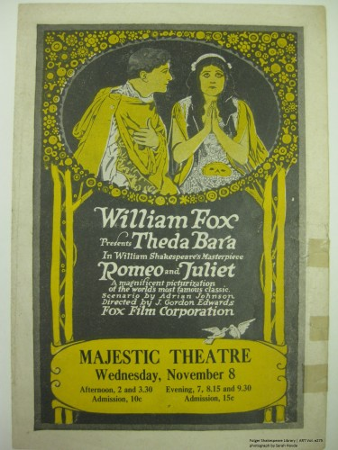 Romeo and Julie t(Fox) at the Majestic Theatre