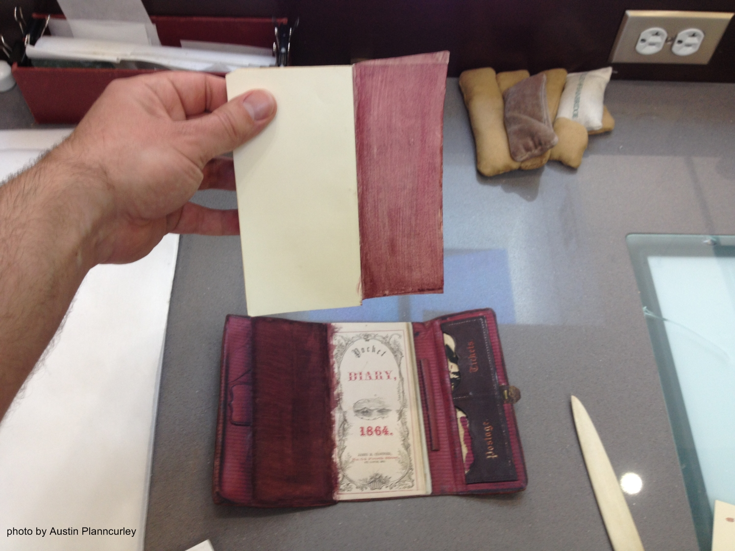 Building A Replica Of The John Wilkes Booth Diary