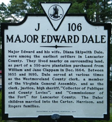 major edward dale marker