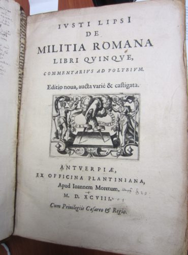 A book from Jonson's library