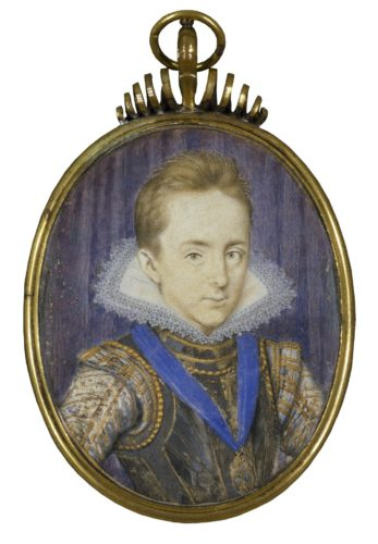portrait of Prince Henry ca. 1610s