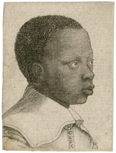Portrait of an African boy, Wenceslaus Hollar (ART 236023 (size XS))