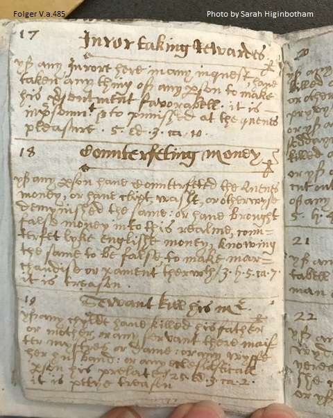 Manuscript Legal Notebook